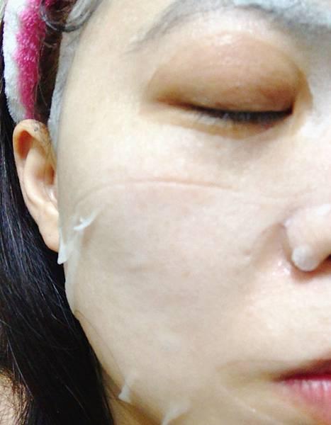 Hada-Labo 肌研 肌研極潤金緻水凝絲高效保濕面膜 (5).JPG