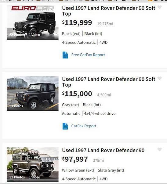 Land Rover Defender 90 Soft Top