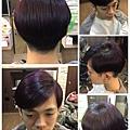 神秘暗紫~顯眼又低調的色系
