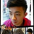 男士剪髮(已燙近兩個月的捲度)