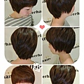 俏麗短髮好整理..隨意撥髮都好看~~自然焦糖棕色系