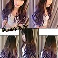 夢幻髮色~紫霧粉色系!!來點不一樣的 大玩色彩