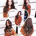 韓式長捲髮 展現迷人優雅氣質