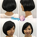 年輕短髮設計造型