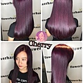 葡萄紫🍇亮色系👍🏻✨