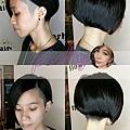 中性 短髮造型