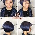 短髮也要很有型!!! 今年流行髮色~靛靛靛