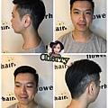 男士油頭髮型
