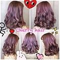 霧淺粉紫色~特調喜愛髮色