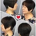 時尚感短髮設計~時髦又好看!!!