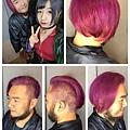搖滾粉紫色