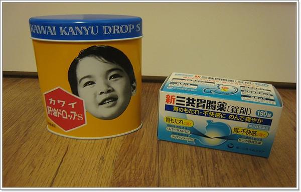 魚肝油。胃腸藥.JPG