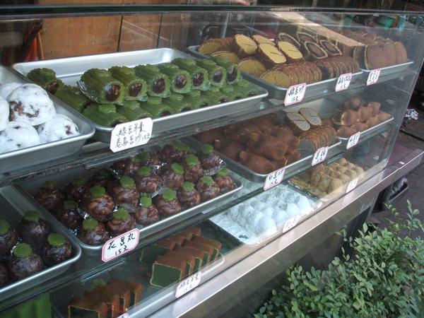 嘉義小巷中的甜點小舖