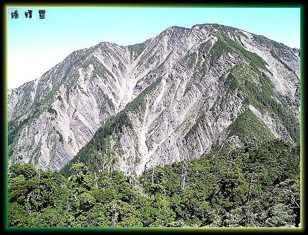 馬博拉斯山與山腳下圓柏純林