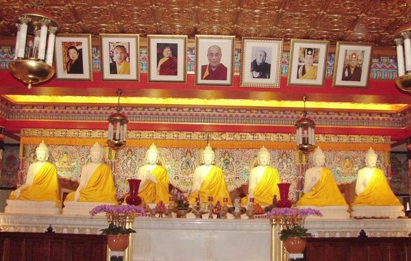 【藏傳佛教】(The Buddhism of Tibet or Lamaism)【寧瑪派】、【薩迦派】、【噶舉派】、【格魯派】四大教派﹗