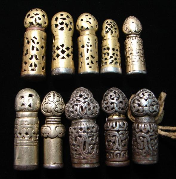 坊間日益珍稀、罕見型制銀授、銅授印章(Mandala Seal)【藏傳老天鐵】(Thogchags)﹗