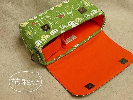 和風蔬菜雙鏡包內部設計 for GF