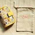 頸掛式兩用護照套|心花朵朵。--售出。