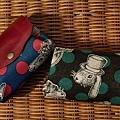 小可愛有三層零錢包|迷幻兔子(藍&黑)