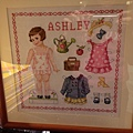 Cross stitch for doll