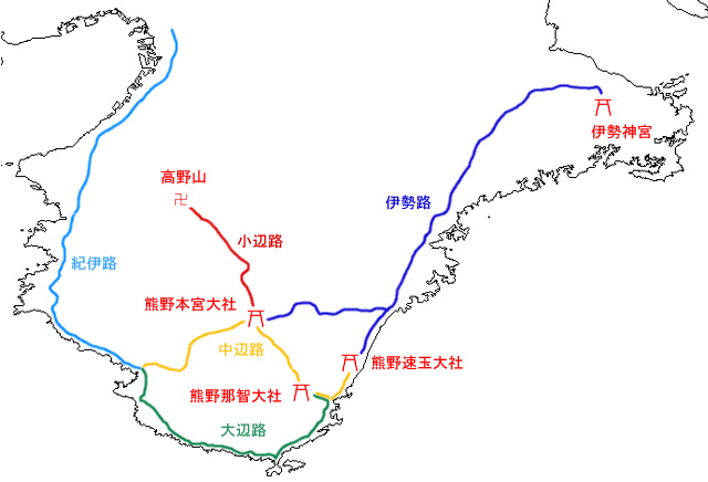 Map_Kumano_Kodo_(ja)
