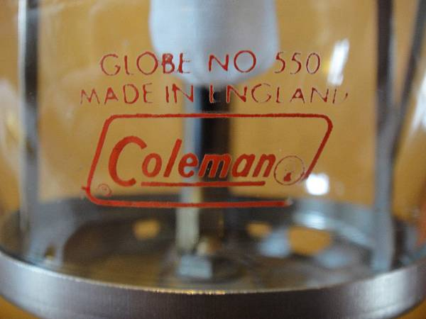 coleman 200A GOLBE NO550 Made in England.JPG
