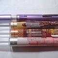 UNI STYLE-FIT五色筆管比較一下