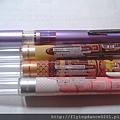 UNI STYLE-FIT魔幻筆管和甜點系列比較