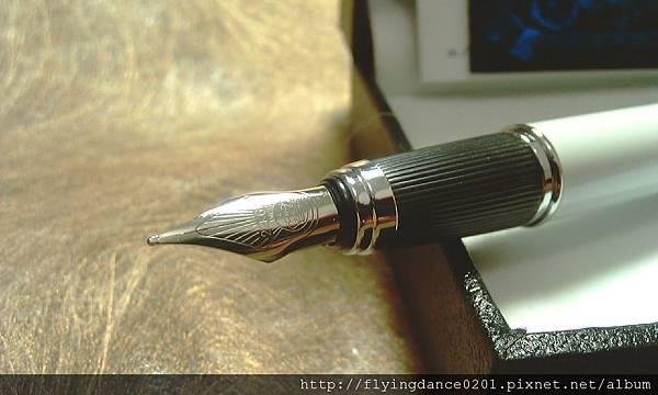 德國公爵筆Duke-P06珍珠白銥金筆