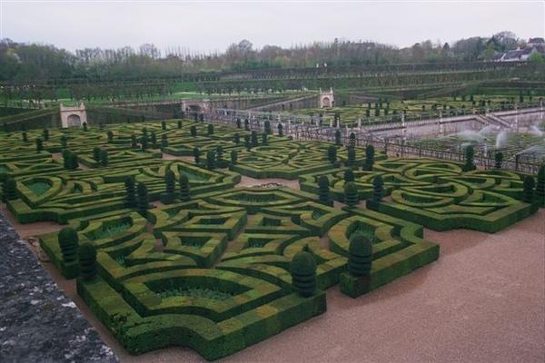 Villandry 愛的主題花園