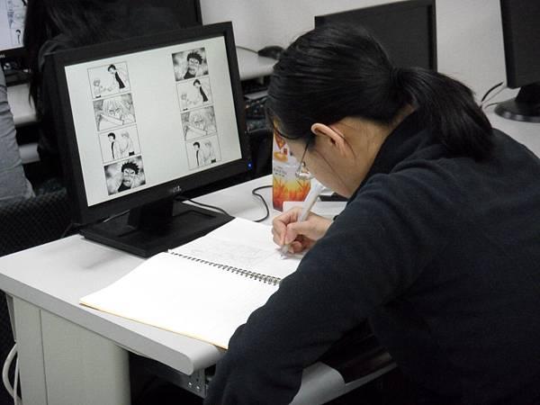 曾建華老師職業漫畫家課程