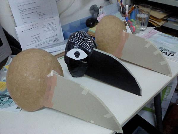3隻烏鴉頭