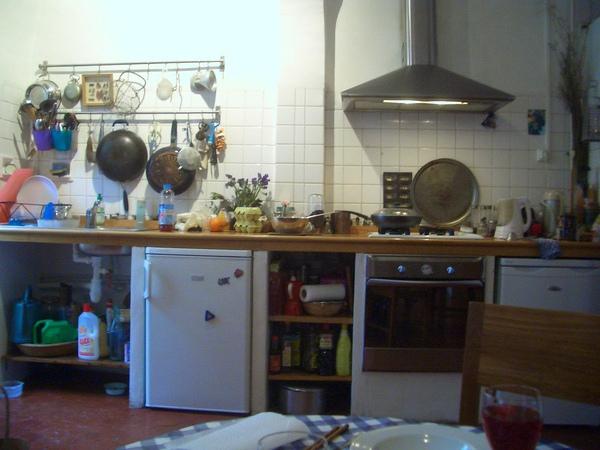 美麗女主人的美麗廚房