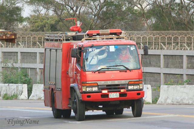 Fuso 水箱消防車