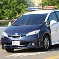 Toyota Wish 警車