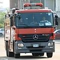 賓士Actros 2636 水箱消防車
