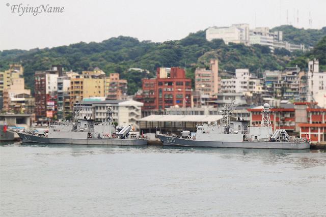 PGC-611湘江艦 & PGC-605淡江艦