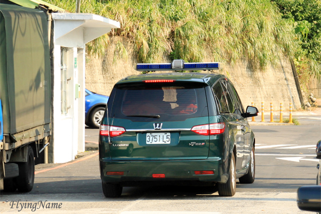 海巡署海岸巡防總局 Luxgen MPV 巡邏車