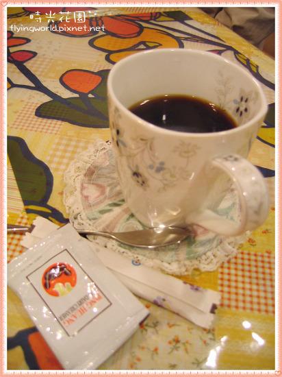 石中鍋附的咖啡