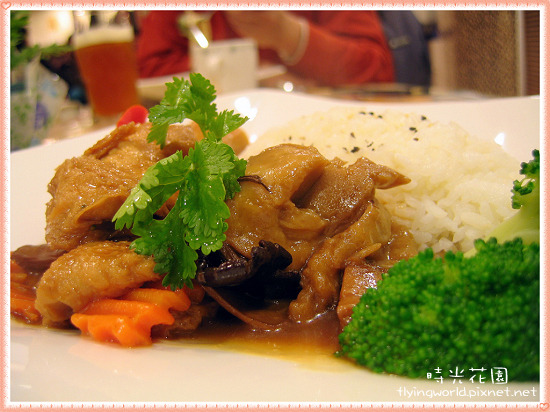薑菇蠔香一品飯
