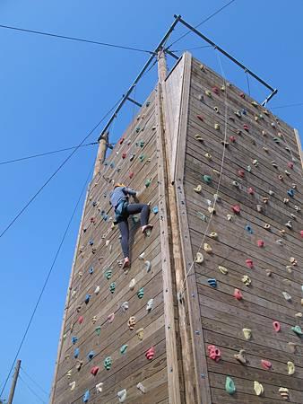20130228第一次攀岩
