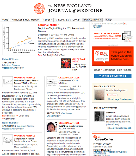 FireShot Capture 216 - The New England Journal of Medicine_ Research %26; Revie_ - http___www.nejm.org_.png