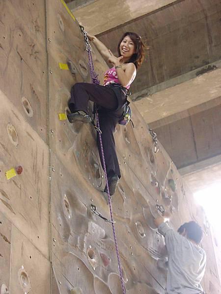 蘿拉登頂了