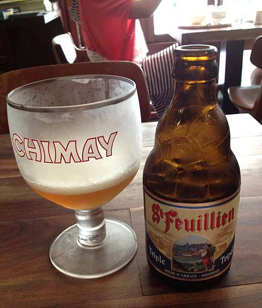 比利時聖芬央修道院三重發酵金啤酒 alc.8.5