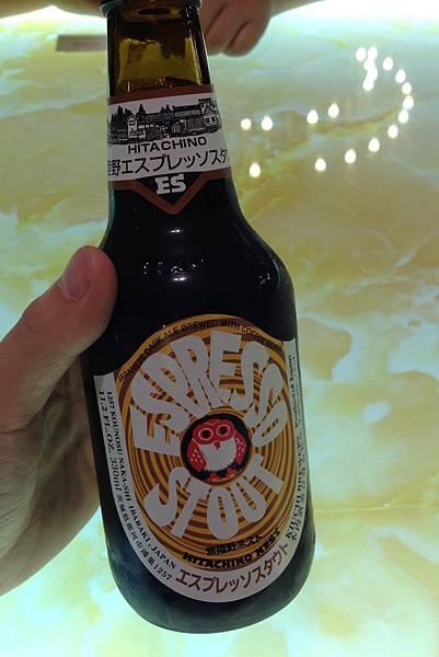 常陸野貓頭鷹Espresso咖啡啤酒 alc.7.5%
