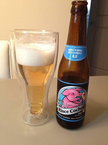 比利時Rince Cochon粉紅豬啤酒 alc.8.5%