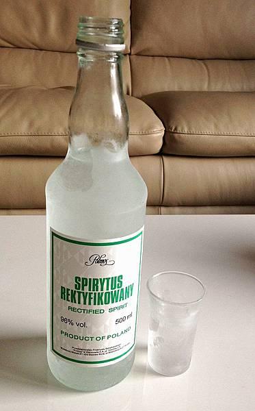 波蘭生命之水精餾伏特加 alc.96% Spirytus Rektyfikowany  Rectified Spirit