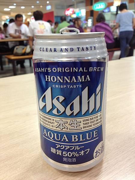 Asahi 朝日啤酒本生(藍) 減糖50% alc.5%