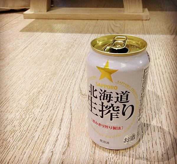 SAPPORO三寶樂北海道生搾啤酒 alc.5.5%