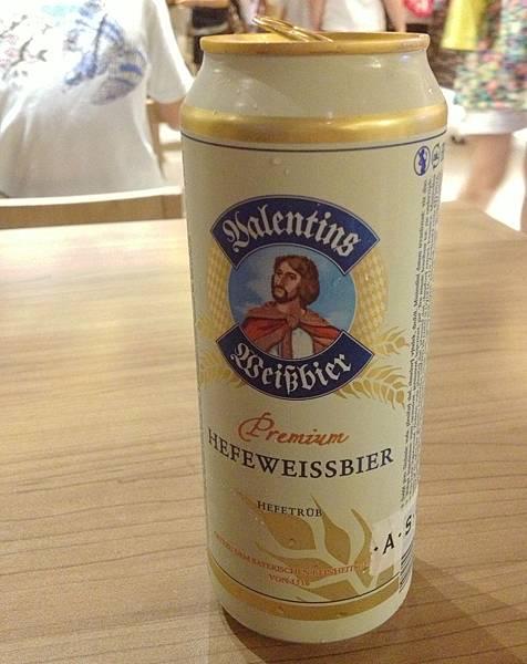 德國情人節Valentins小麥啤酒 alc.5.3%